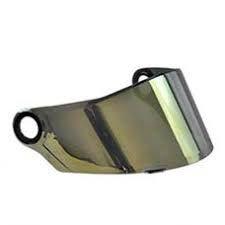 Viseira Ls2 Ff358 E Ff396 Iridium Gold Dourada Original Moto