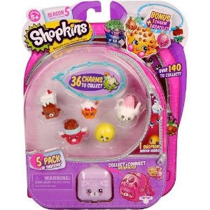 3581 SHOPKINS BLISTER KIT C\ 5