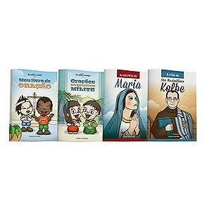 """Coleção Livrinhos """"O pequeno mílite"""""""