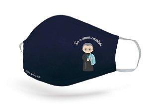 Máscara de Proteção São Maximiliano Kolbe Adulto