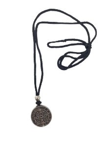 Cordão com pingente Medalha de São Bento