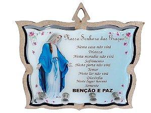 Porta Chaves MDF Nossa Senhora das Graças