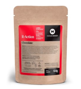 R-ACTION - CHOCOLATE - caixa com 12 sachês de 64g