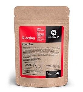 R-ACTION - CHOCOLATE - caixa com 12 sachês de 64g