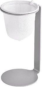 Mini Coador de Café - Pressca - Cinza
