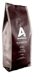Café América em Grãos Ristretto 1kg