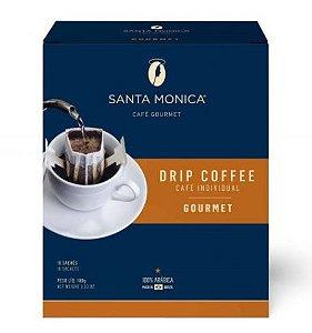 Café Santa Monica Drip Coffee Gourmet 10 unidades