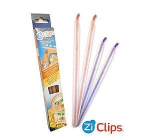 Kit com 4 ZiClips - Veda qualquer embalagem!