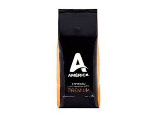 Café América Premium em Grãos 1kg