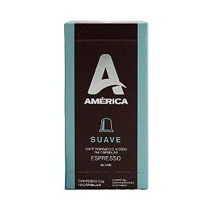 Café em Cápsulas América Suave - 10 Unidades