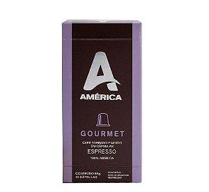 Café em Cápsulas América Gourmet - 10 Unidades
