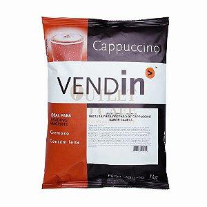 Cappuccino Solúvel sabor Canela - Vendin - 1kg