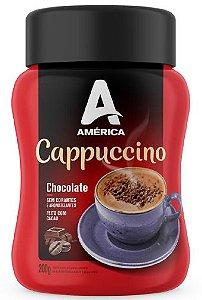Cappuccino América Chocolate - Pote de 200g