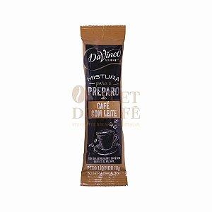 Stick's solúvel Café com Leite DaVinci - Caixa c/ 100x10g