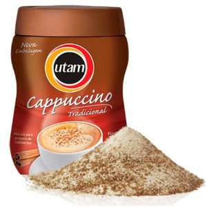 Cappuccino Utam Clássico - Pote de 200g