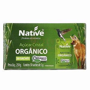 Açúcar Orgânico Native Sachet 50 Un. de 5g