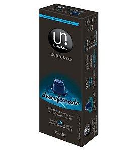 Cápsulas de Café Utam Uno - Descafeínado - 10 unid.