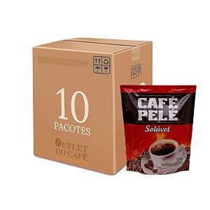 Café Pelé Solúvel 500g - Caixa c/ 10 unid.