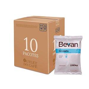 Leite Em Pó Solúvel Bevalatte - Bevan - 1kg - Caixa c/ 10 unid.