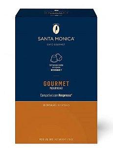 Café em Cápsulas Santa Monica Gourmet - 10 unid.