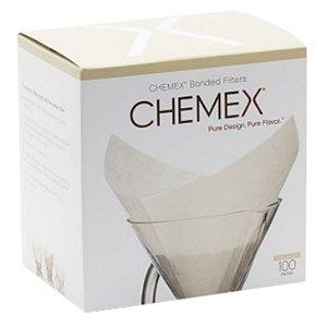 Filtro de papel Chemex Quadrado 100 unidades - para 6-8 xícaras