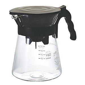 Conjunto para Coar Café Hario Preto 700ml