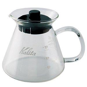 Jarra de vidro com alça de vidro Kalita 500 ml