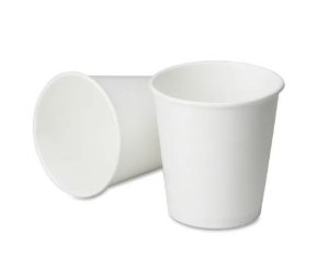 Copo branco de papel 120ml - Caixa c/ 1.000 unid.