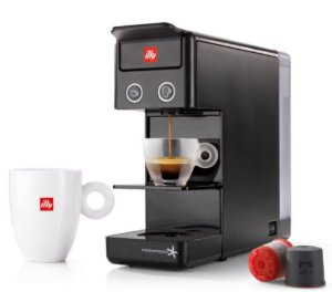 Máquina para Cápsulas - Café iperEspresso Illy Y3.3 - Preto - 127v