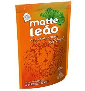 Chá Mate Natural Solúvel Matte Leão 50g