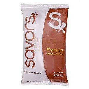 Chocolate em pó ZERO AÇÚCAR Savors Premium 1.010KG