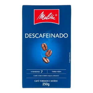 Café Torrado e Moído Melitta Descafeinado - 250g