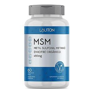 MSM - Metil Sulfonil Metano - Pote com 60 capsulas de 450mg