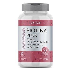 Biotina Plus - Pote com 60 cápsulas de 45mcg