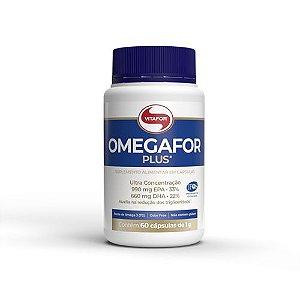 Omegafor Plus - Pote com 60 cápsulas