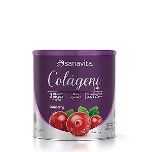 Colágeno Skin Sabor Cranberry 300g