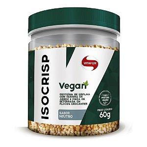 Isocrisp Vegan 60g     Produto em promoção. Vencimento do produto: 09/2020.