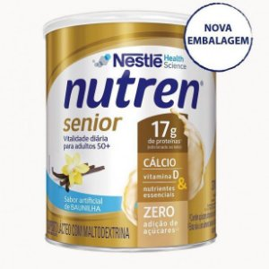 Nutren Senior Pó Baunilha 370g