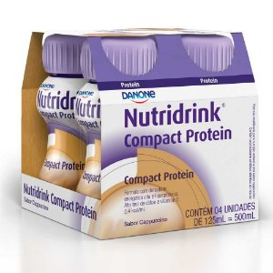 Nutridrink Compact Protein Capuccino 4x125ml