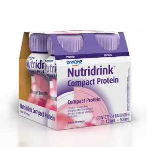 Nutridrink Compact Protein Morango 4x125ml.