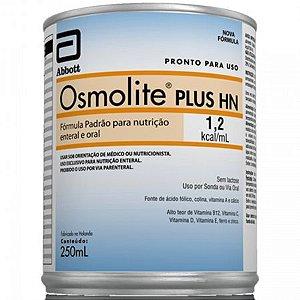 Osmolite Plus HN 250ml      Produto em promoção. Vencimento do produto: 31/10/2021.