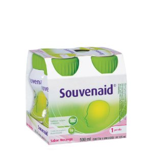 Souvenaid Morango 4x125ml