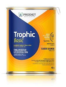 Trophic Basic Pó - Lata de 400g     PRODUTO EM PROMOÇÃO! Vencimento do produto: 08/12/2021.