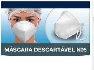 Máscara De Proteção Respiratória N95 PFF2 S/ Válvula Branca - NEVE