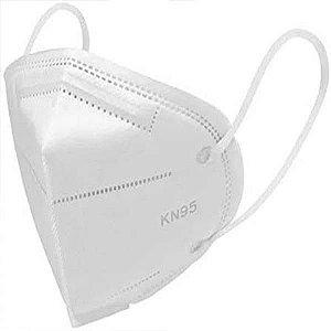 Máscara De Proteção Respiratória KN95 PFF2 S/ Válvula Branca - ProtecTop