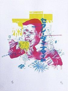 Serigrafia - Atropelo - 48x33cm