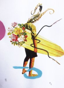 Serigrafia - Surf - 48x33cm