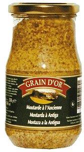 Mostarda de Dijon Antiga com grãos Grain D'Or