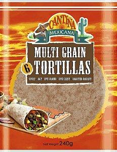 Tortilha Multi Grãos Cantina Mexicana