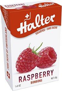 Bala Halter sem açúcar sabor Framboesa (Display com 16 un)